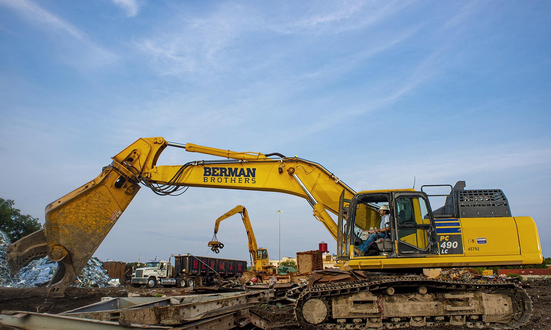 Komatsu hydraulic excavators